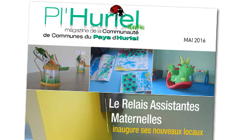 Illustration du magazine Pl'Huriel